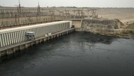 انفجار بمحطة كهرباء السد العالي في مصر
