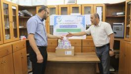 تجمع الأطباء يبدأ بتنفيذ المرحلة الثانية لدعم القطاع الصحي في فلسطين