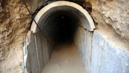 الاحتلال يزعم اكتشاف نفق هجومي متوغل من شمال قطاع غزة