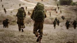 تدريب عسكري لجيش الاحتلال