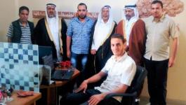 بالصور: اتحاد القبائل العربية يزور مقر وكالة