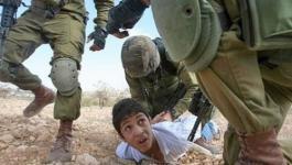 الاحتلال يحتجز طفلين من جنين لعدة ساعات.jpg