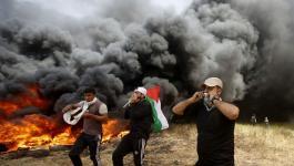 شبان يجتازون السياج الأمني شرق غزة وينسحبون بسلام.jpg