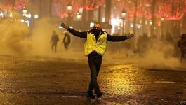 فرنسا والمظاهرات