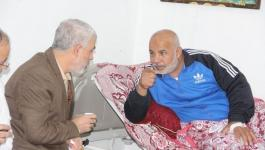 أبو نعيم يستقبل السنوار مُهنئاً بسلامته.jpg