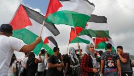 عدد الفلسطينيين