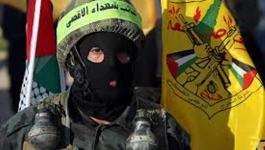 صورة: كتائب الأقصى تُبارك عملية إطلاق النار برام الله