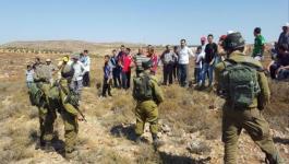 الاحتلال يستولي على أراض في نابلس.jpeg