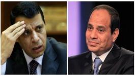 السيسي ودحلان يهنئان منخب مصر بصعوده لكأس العالم 2018