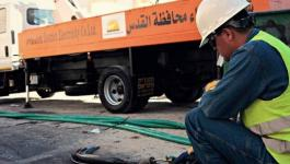 كهرباء القدس تنقل محولات وكوابل لمحطة تقوية جديدة برام الله.jpg