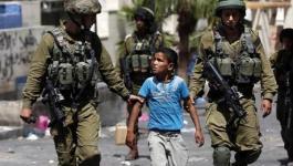 مركز حقوقي يرصد استهداف الاحتلال للأطفال بغزة بـ 2017