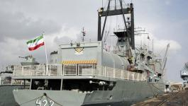 إيران تُرسل سفينتين حربيتين إلى سلطنة عمان