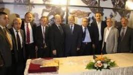 رجال أعمال يبحثون آفاق الاستثمار الفلسطيني في الأورغواي