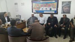 وزير الأوقاف يصل غزة عبر معبر بيت حانون لمتابعة عمل الوزارة