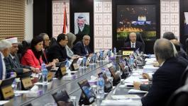أبرز ما جاء في الجلسة الأسبوعية لمجلس الوزراء الفلسطيني