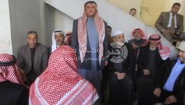 بالصور: إتمام مراسم صلح عشائري وعفو بين عائلتين بالنصيرات