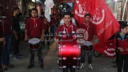 بالصور: مسيرة كشفية للشعبية بالنصيرات إيذاناً ببدء فعاليات الانطلاق