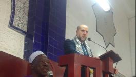 الهباش يوجه رسالة إلى المسلمين في أنحاء العالم
