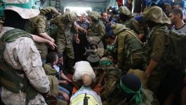 الآلاف يُشيعون جثمان الشهيد القسامي