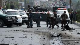 انفجار قرب السفارة الأميركية وسط كابول.jpg