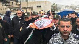 بالصور والفيديو: نابلس تشيع جثمان الشهيد الأسير حسين عطا الله
