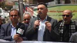 بالفيديو والصور: جنازة رمزية للشهيد الزميل الصحفي أحمد أبو حسين برام الله