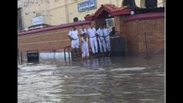 شاهد...  الإسكندرية تغرق في مياه امطار شتاء 2015 - 2016
