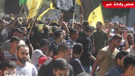 بالفيديو والصور: جماهير غفيرة تُشيّع جثامين 7 شهداء ارتقوا على حدود قطاع غزّة