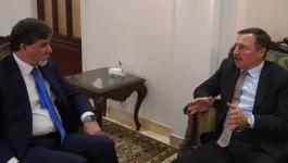 السفير :  أنورعبد الهادي يبحث مع سفير