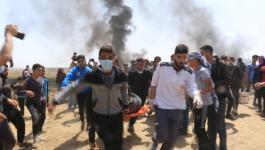 10شهداء ومئات الإصابات برصاص الاحتلال في جمعة مسيرات العودة الثانية