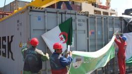 السيسي يُصادق على إدخال قافلة المساعدات الجزائرية إلى قطاع غزة