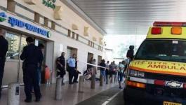 نقل عدد من الأسرى المضربين في عسقلان إلى مستشفى برزلاي.jpg