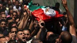 تشييع جثامين 3 شهداء بينهم طفل ارتقوا برصاص الاحتلال شرق القطاع