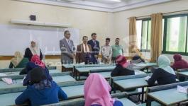 بالصور: انطلاق الامتحانات النهائية في الكلية الجامعية للفصل الدراسي الثاني