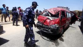 3 إصابات في حوادث سير متفرقة بغزة