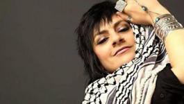 تشييع جثمان الفنانة ريم بنا في الناصرة
