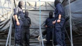 إعدام عملاء بغزة