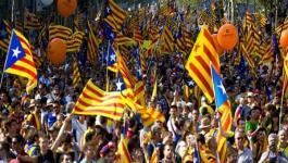مظاهرات حاشدة في برشلونة.jpg