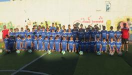 بالفيديو والصور: افتتاح مدرسة لتعليم الأطفال رياضة كرة القدم بغزّة