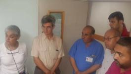 ثلاث وفود طبية تقطع آلاف الأميال لتشارك بعمليات معقدة بغزة.jpg
