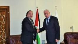 المالكي يتسلم نسخة من أوراق اعتماد ممثل البوسنة والهرسك لدى فلسطين.jpg