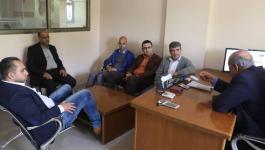 بالصور: وفد من وزارة الإعلام يزور مقر وكالة