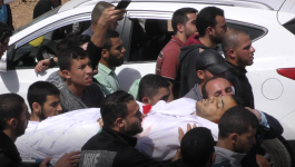 بالفيديو: جماهير غفيرة تُشيّع جمثان شهيد الحقيقة الزميل الصحفي ياسر مرتجى