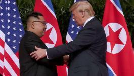 ترمب والكوري الشمالي