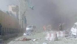 عشرات القتلى والجرحى بانفجار سيارة في كابول.jpg