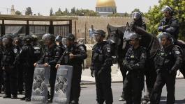 مركز حقوقي يدين إجراءات الاحتلال ضد السكان المدنيين في مدينة القدس