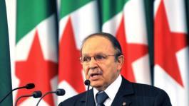 الرئاسة الجزائرية تنفي إعلان بوتفليقة نيته الترشح لولاية خامسة.jpg