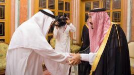 شاهد: كيف استقبل العاهل السعودي وولي عهده نجلي جمال خاشقجي؟