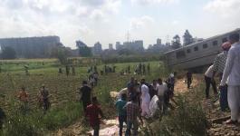 الكشف عن أعداد ضحايا حادث القطار بالإسكندرية