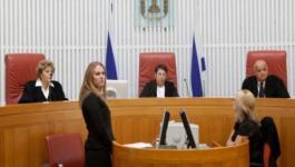 الاحتلال يمنع ذوي أسرى من دخول محكمة سالم بجنبن.jpg